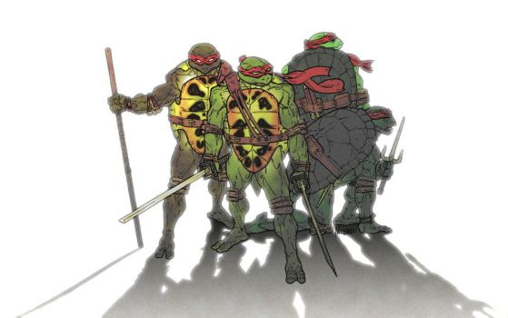 Teenage Mutant Hero Turtles by EnigmaResolve