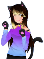 Art Trade: Nyaaa~ by Nekuchi