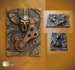 Steampunk ACEO IV by Diarment