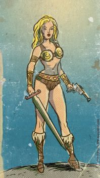 Battleground Teela by TheCosmicBeholder
