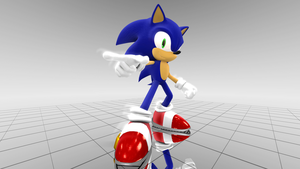 MMD Sonic - WIP Update #01 by BluexBlur