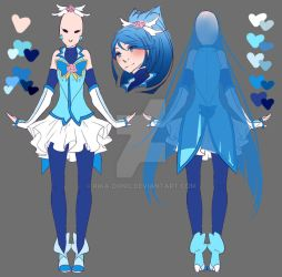 Cure Aqua - Grown-up Design by rika-dono