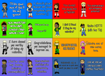 Dance Central Valentine's Day Cards by thestarishere99