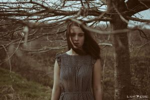 the girl in the trees by LichtReize