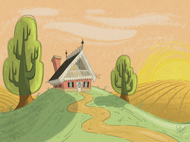 Farmhouse by Lotusbandicoot