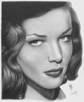 Lauren Bacall by wolfwoman