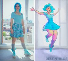 Artist Outfit Of The Day Drawing! by DestinyBlue