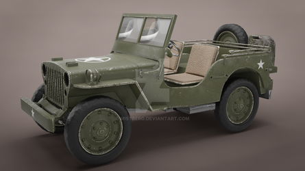 Willy's Jeep by Mistberg