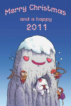 Happy 2011 by BattlePeach