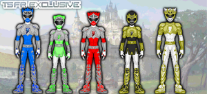 Renverse: Power Rangers Mythic Knights by TerenceTheTerrible