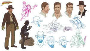 Indiana Jones Animated Concept - 07 by PatrickSchoenmaker