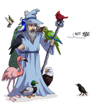 Usidore Loves Birds by ErinPtah