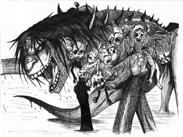 Death Leviathan by arosyks