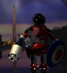 Patriot Robot 4 of 7 by JasonYoungdale