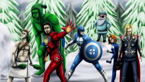 Finnish Avengers by CPT-Elizaye