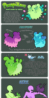 Pacapillars - Species Guide by toripng