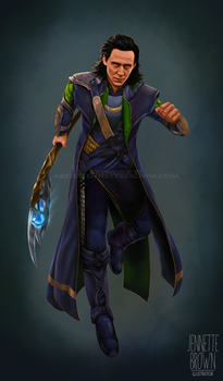 Loki by sugarpoultry