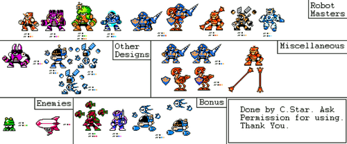 Time Tangent Sprites (My Style) by Ch4dStar