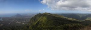 Black River Peak Panorama II by carrotmadman6