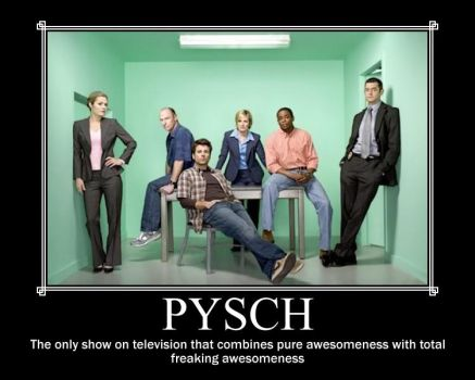 Psych Characters by DragonTheKing