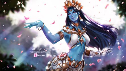 Goddess Symmetra    :NSFW optional: by OlchaS