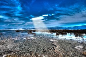 Different view of the Dead Sea by haimohayon