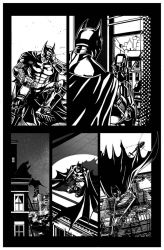 Batman: Arkham Origins Week 6 Page 105 B by druje