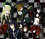 K-ON x Black Rock Shooter by jaja-sick-bear