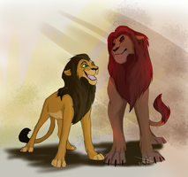 Reverse Lion King by SnappleCider