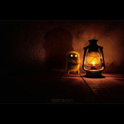 THE BAD OIL LAMP by LEQUARK