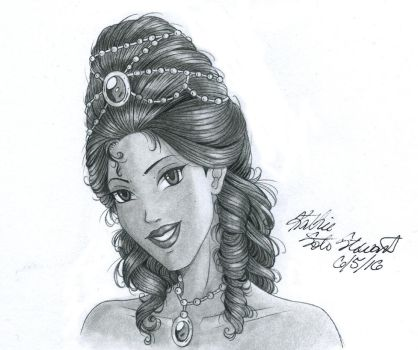 Pocahontas for Linda Stewart: Patreon Reward by Yamigirl21