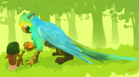 Tropical Gryphon by Avibroso
