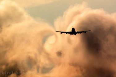 Wake turbulence by gregbajor