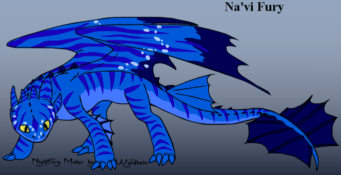 Na'vi Fury by ThunderClawShocktrix