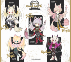 species - mixed batch 2 adopt [closed] by amepan