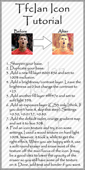 Icon Tutorial by tfcian