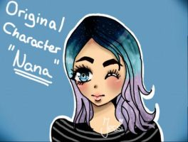 Original Charakter - Nana (Colors3D!- 3DS Drawing) by Yamiineeee