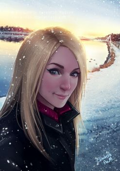 Winter Selfie by Emeraldus
