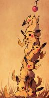 pile o pikas by CoconutMilkyway