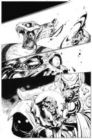 Battle Chasers page 4 by TimTownsend