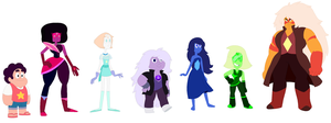 My Version of Steven Universe by JanethePegasus