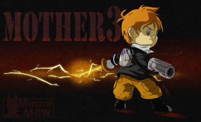 Mother 3 - Unmasked Masked Man by ManiacalMew