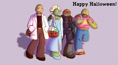 Happy Halloween by Emaberry