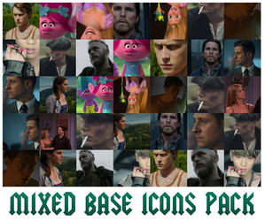Icon Base - Mixed Pack #1 by RavenLSD