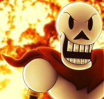 Papyrus is Hardcore by PendulumWing