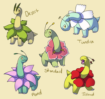 Pokemon Subspecies: Meganium