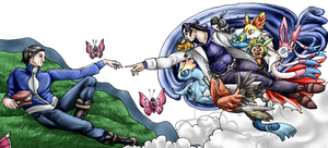 Creation of new generations - Pokemon X / Y -
