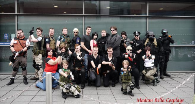 Resident Evil Photoshoot with D.C Douglas by MasterCyclonis1