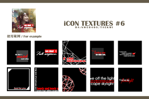 ICON TEXTURES #6 by NWE0408