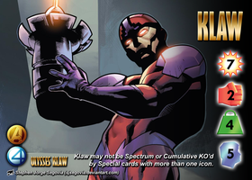 Klaw (Ulysses Klaw) Character by overpower-3rd